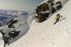 Freeride in the Lyngen Alps (Norwegian west coast)